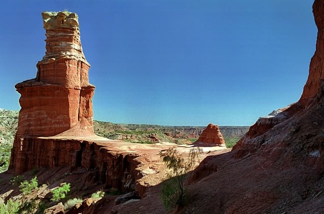 The Lighthouse at Palo Duro Canyon, Texas