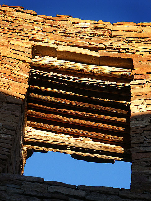 Masonry window, Pueblo Bonito