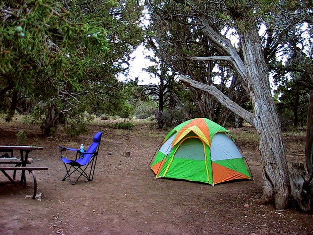This was my modest camp site on the North Rim of Black Canyon. I had my pick of 13 sites.