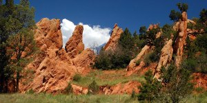 Garden of the Gods is a little domesticated for my taste, but it still made pictures.