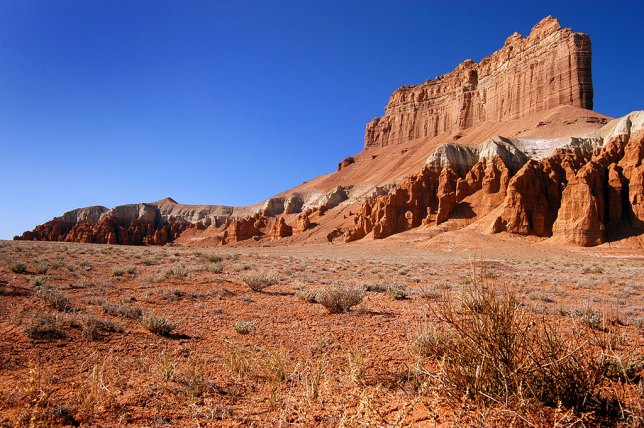 This is another view of the spectacular Wild Horse Butte.