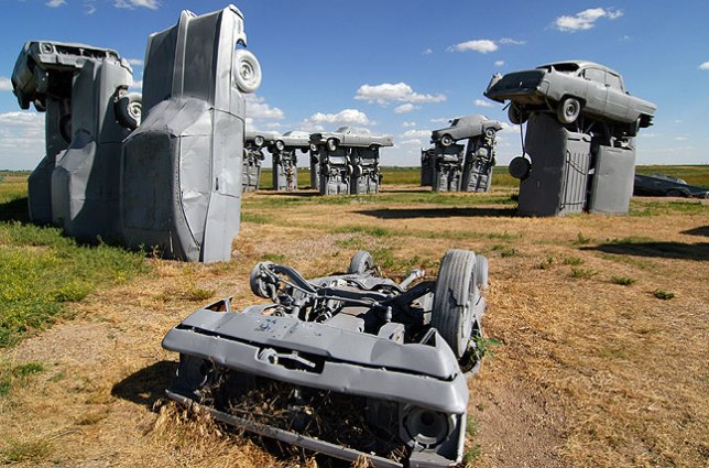 Carhenge and Car art Reserve, Alliance, Nebraska