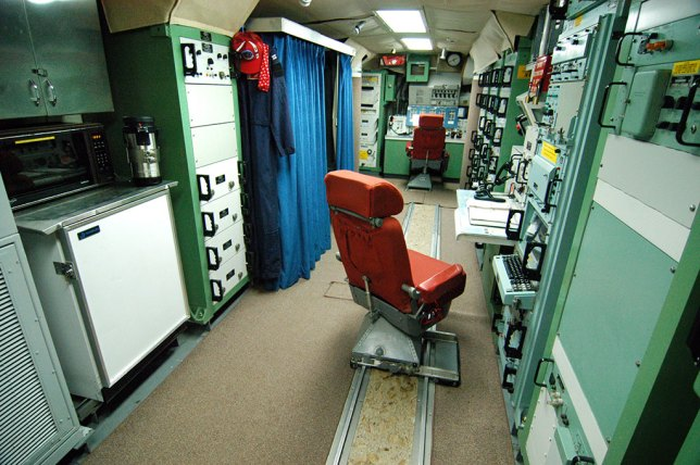 This overview shows the Launch Control Unit at Minuteman Missile National Historical Site.