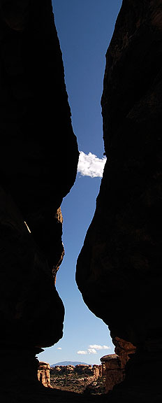 Near the Confluence Overlook trail head, Canyonlands.