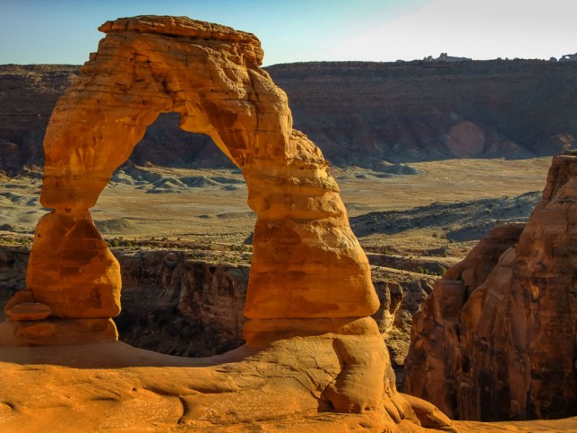 It's hard not to photograph Delicate Arch, even though thousands of photos are made there every day. It's even harder to resist the urge when you have special claim to it, which we do since we got married there.