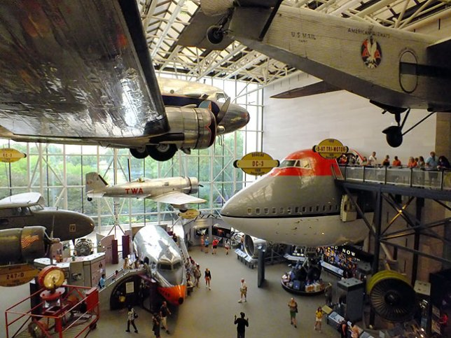 As an aviator, I found the Smithsonian's Air and Space Museum particularly appealing.
