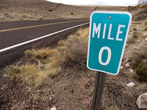 Mile Marker Zero: the start of great things.