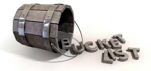 #LiveLIFE BUCKET LIST