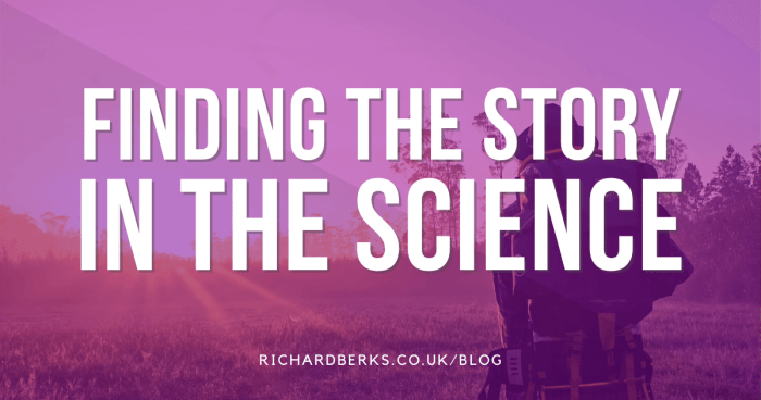 Finding the story in science
