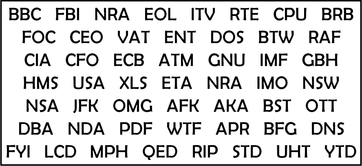 nsa acronym