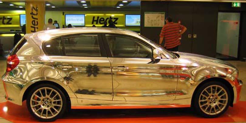Silver Car x2
