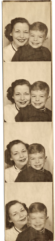From the book's cover. Young Rick Russo and his Mom.