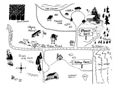 Map by Laura Joseph