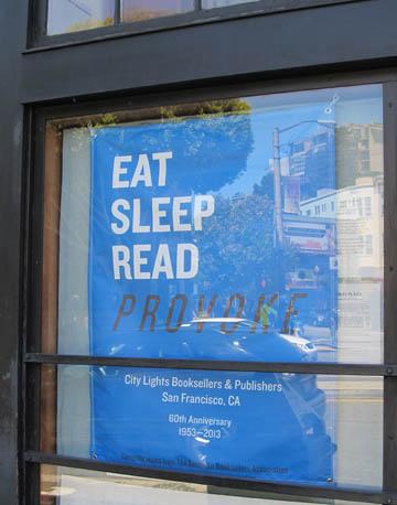 Eat, Sleep, Read, Provoke x
