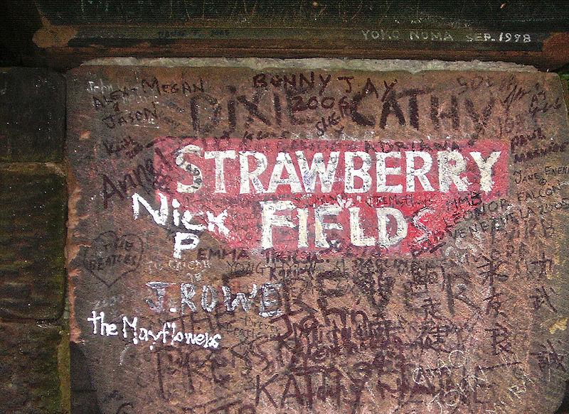 Beatles Strawberry Field