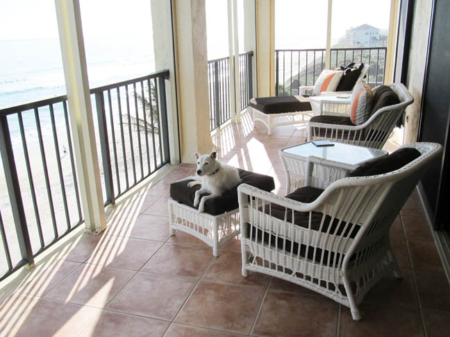 Condo Porch, Belle, Sea x