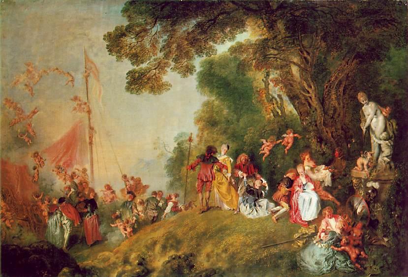 Jean Watteau's pilgrimage