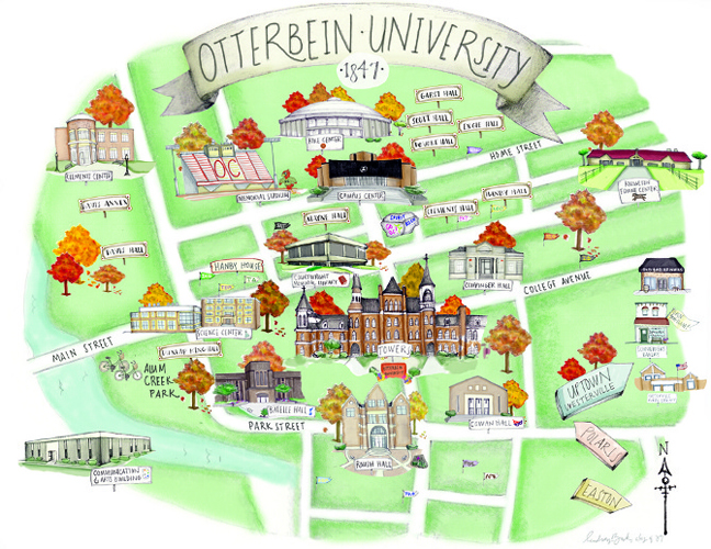 Otterbein Map-Lindsey Buck