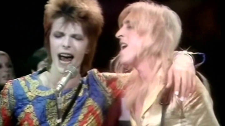 Bowie and Starman, 1972