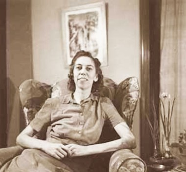 Eudora Welty, young