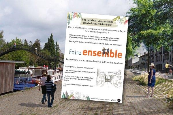 Rendez-vous urbain Hauts-Pavés Saint-Félix (Nantes)