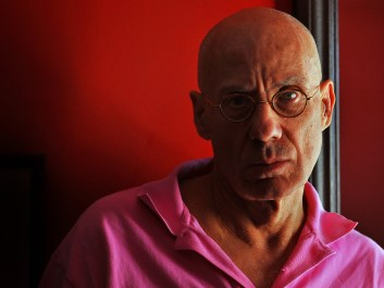Author James Ellroy at his home in Los Angeles, Ca. Monday July 27, 2009. (AP Photo/Richard Hartog)
