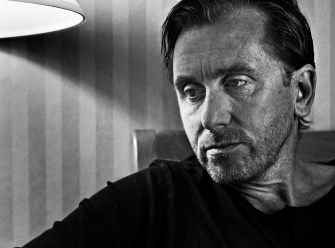 PASADENA CA - June 03, 2008: Actor Tim Roth at the Hilton Pasadena in Pasadena Tuesday, June 03, 2008. The independent film actor of Pulp Fiction and Reservoir Dogs fame is making his leap into mainstream movies by playing the heavy in The Hulk. (Richard Hartog/Los Angeles Times).