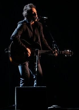 Bruce Springsteen performs Dust and Devils at the 48th Annual Grammy Awards at the Staples Center in Los Angeles, California on Wednesday February 08, 2006. -- PHOTO CREDIT: Richard Hartog/Los Angeles Times