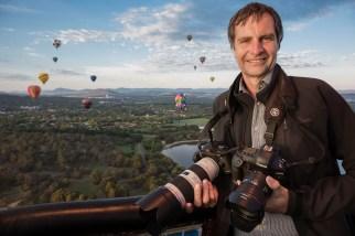Hot air balloon festival, Australia