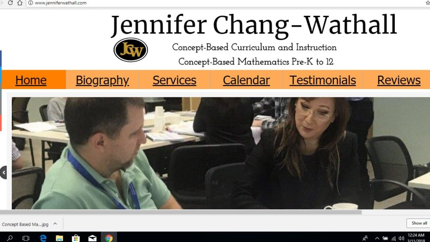 Jennifer Wathall Website