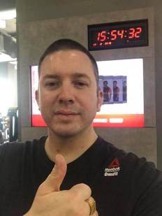 richard rogers gym 17th feb