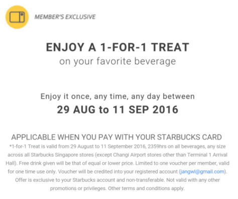 Starbuck Treat