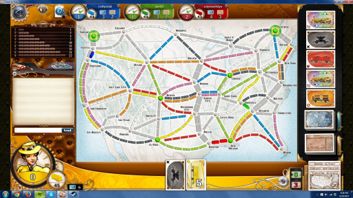 Three Chokeholds to get early in your Ticket to Ride Game