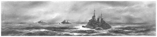 HMS Belfast - Line Abreast
