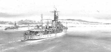 HMS Corunna and HMS Barrosa
