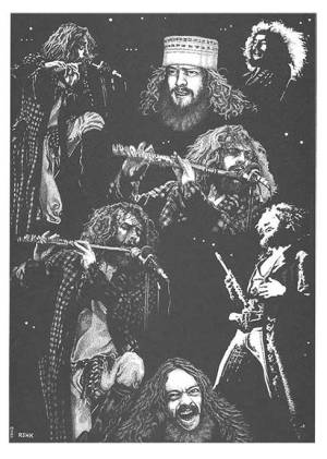 Jethro Tull Early Days Print 1 of 3