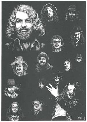 Jethro Tull Early Days Print 3 of 3