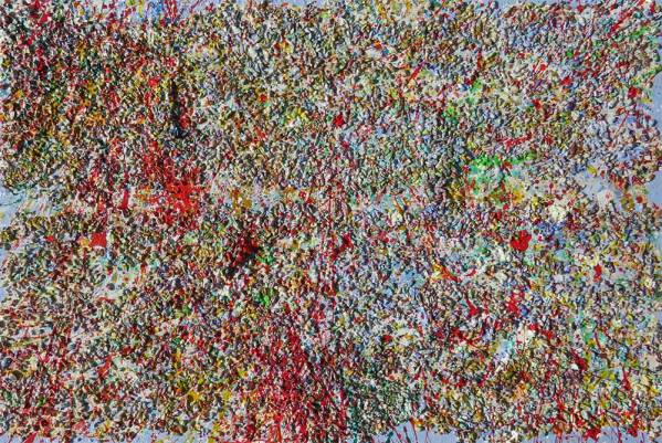Red: Abstract Painting by Richard Kennedy
