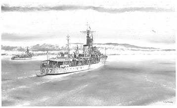 HMS Corunna and HMS Barrosa
