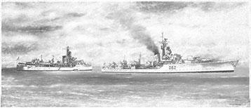 HMS Jutland & HMS Agincourt