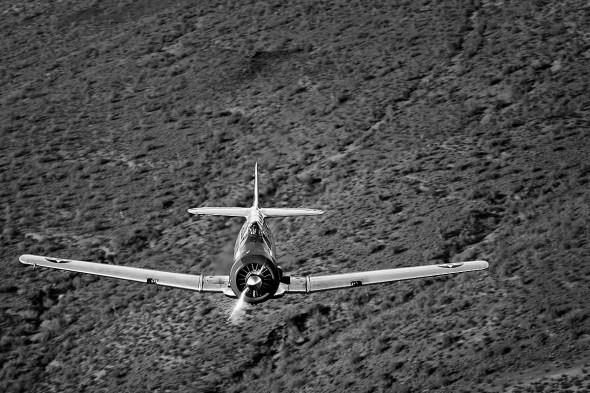 T-6 Texan trainer, air 2 air