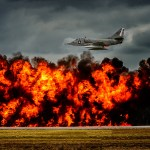 A-4 Skyhawk  and the Wall of Fire!