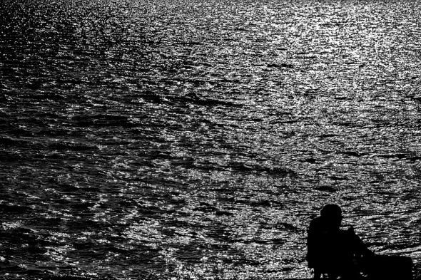 Waiting-for-the-Sun-to-Set-Venice-Fishing-Pier-12Z2351.bw.vv
