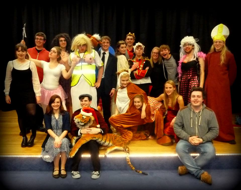 Cast and crew of Cinderella: A Christ's College Pantomime