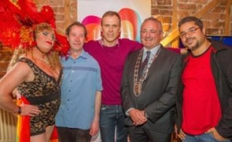Limerick Pride 2015 launch at Dolan's Warehouse