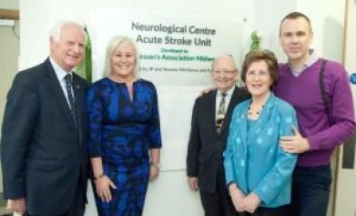 Leben Building Neurological Centre Acute Stroke Unit at University Hospital Limerick