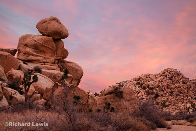 Sunset in the Wonderland of Rocks by Richard Lewis