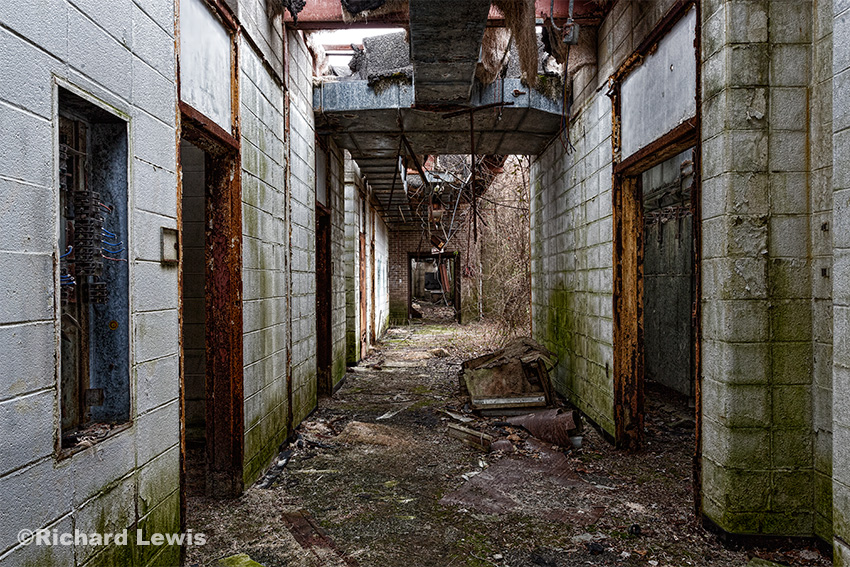 National Lead Laboratory Hallway by Richard Lewis