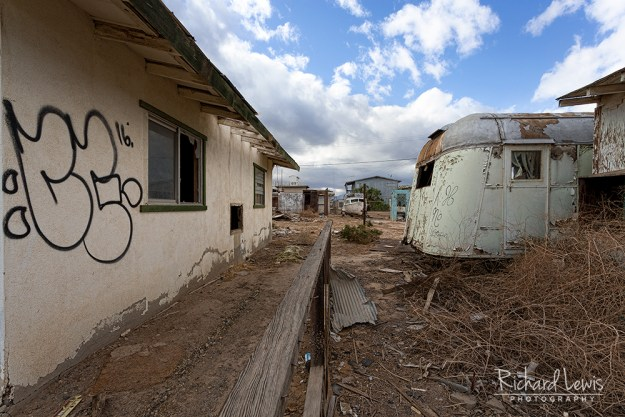 Bombay Beach Street View by Richard Lewis