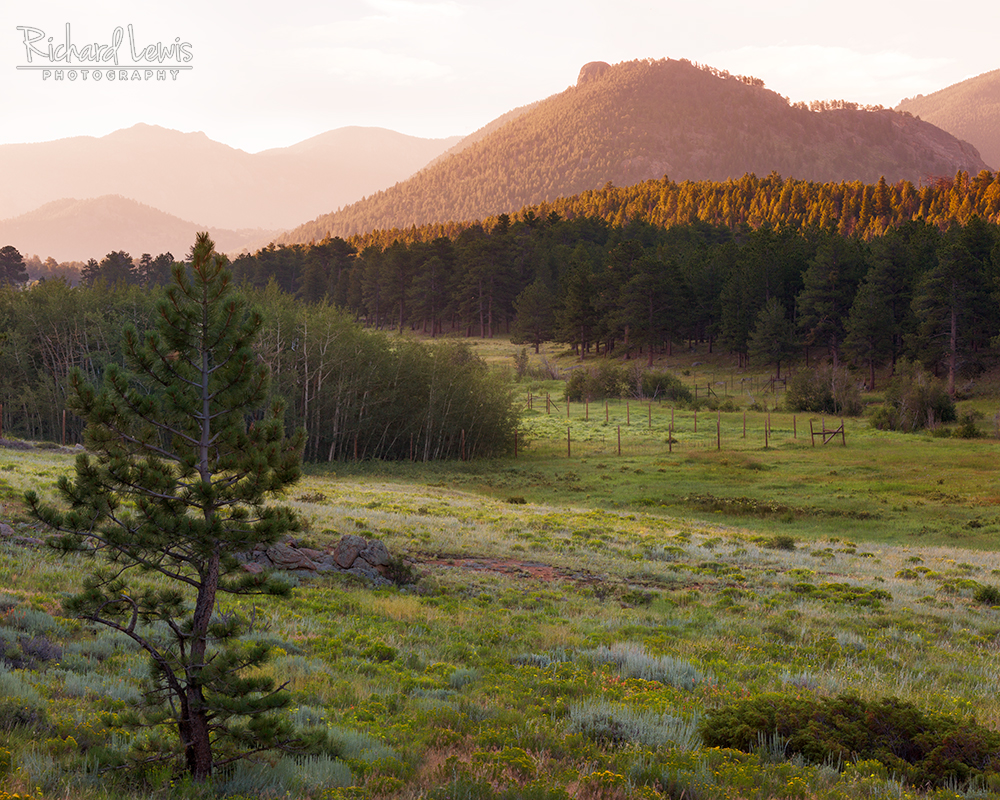 Morning Near Estes Park by Richard Lewis Rocky Mountain National Park